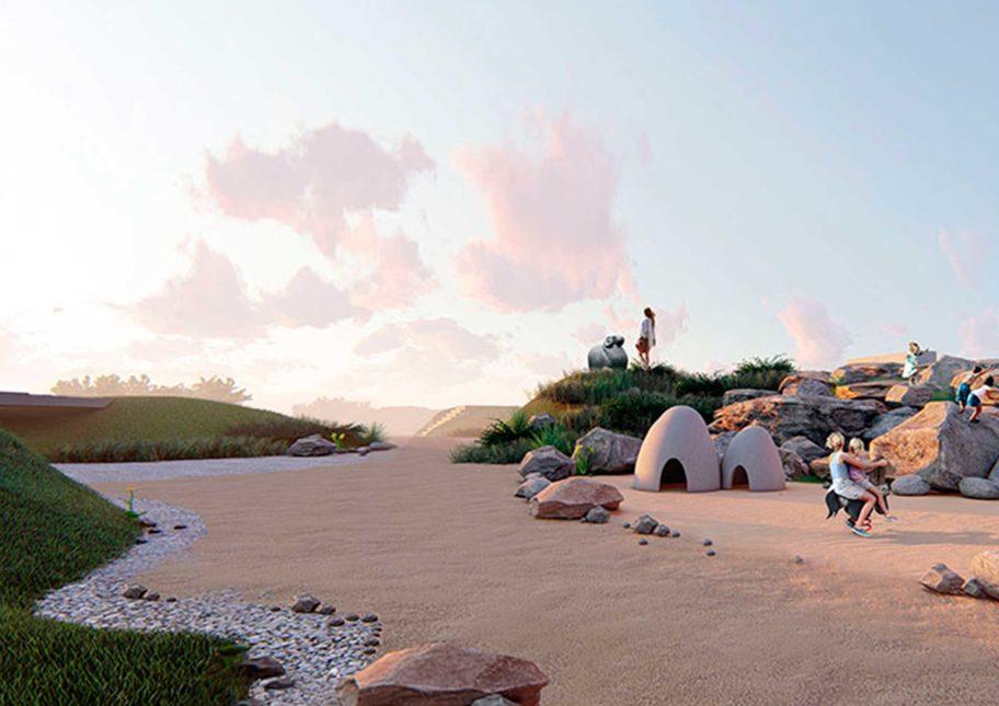Проект благоустройства парка мира, культуры и отдыха города Баксан