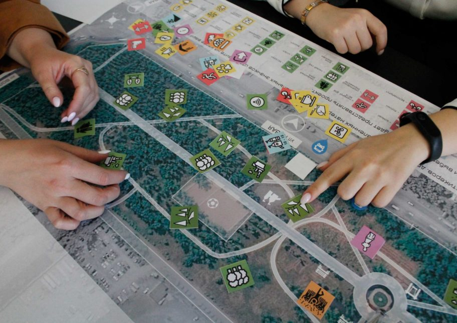 Соучаствующее проектирование парка «Сибсталь» [Красноярский край]